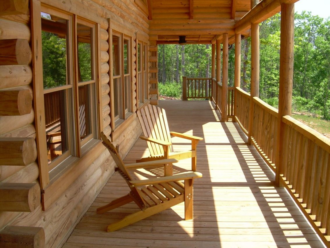 solid wood log cabins with awesome views - Cabin in Woodland