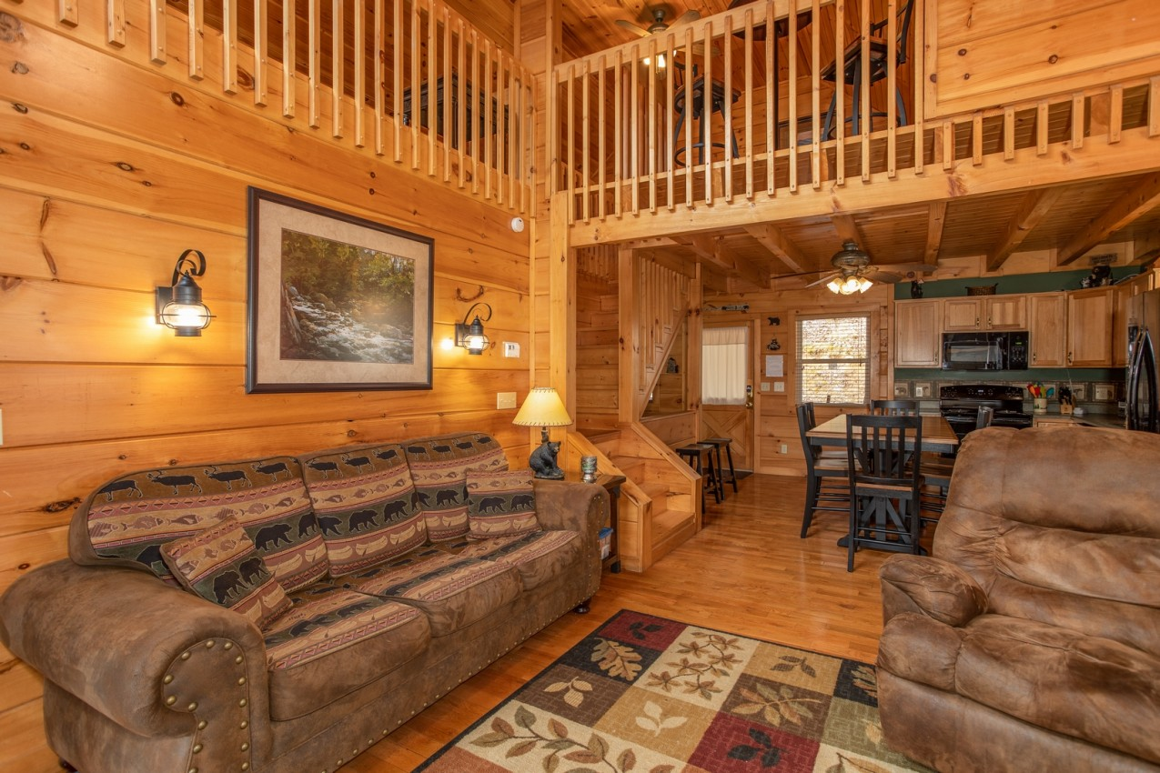 Hidden Romance/Secluded Luxury 2 Bdrm Ca - Cabin in Sevierville